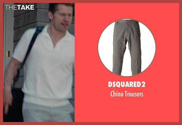 Dsquared2 gray trousers from The Other Woman seen with Nikolaj Coster-Waldau (Mark King)