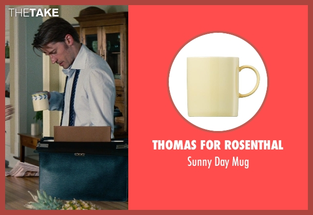 Thomas for Rosenthal mug from The Other Woman seen with Nikolaj Coster-Waldau (Mark King)