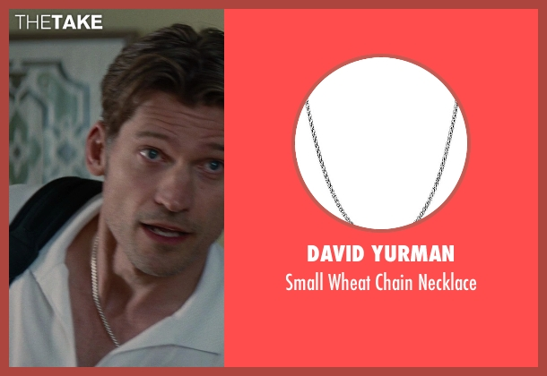 David Yurman silver necklace from The Other Woman seen with Nikolaj Coster-Waldau (Mark King)