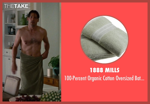 1888 Mills towel from The Other Woman seen with Nikolaj Coster-Waldau (Mark King)