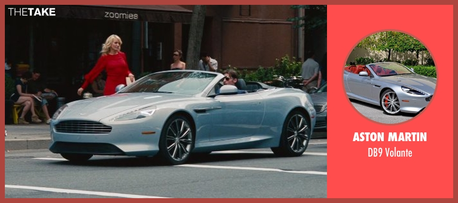 Aston Martin volante from The Other Woman seen with Nikolaj Coster-Waldau (Mark King)