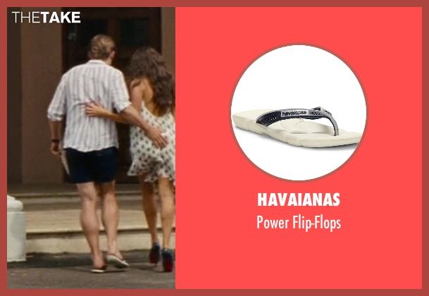 Havaianas white flip-flops from The Other Woman seen with Nikolaj Coster-Waldau (Mark King)