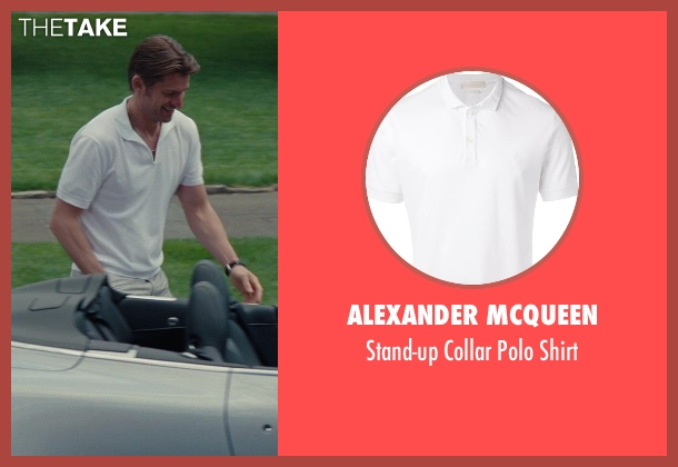 Alexander Mcqueen white shirt from The Other Woman seen with Nikolaj Coster-Waldau (Mark King)
