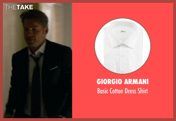 Giorgio Armani	 white shirt from The Other Woman seen with Nikolaj Coster-Waldau (Mark King)