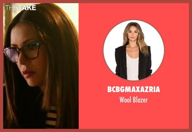 BCBGMAXAZRIA black blazer from xXx: Return of Xander Cage seen with Nina Dobrev (Rebecca 'Becky')