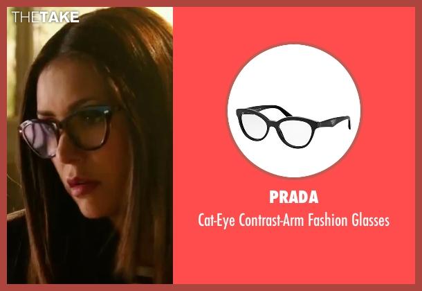 Prada black glasses from xXx: Return of Xander Cage seen with Nina Dobrev (Rebecca 'Becky')