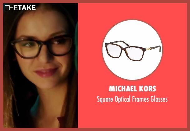 Michael Kors black glasses from xXx: Return of Xander Cage seen with Nina Dobrev (Rebecca 'Becky')