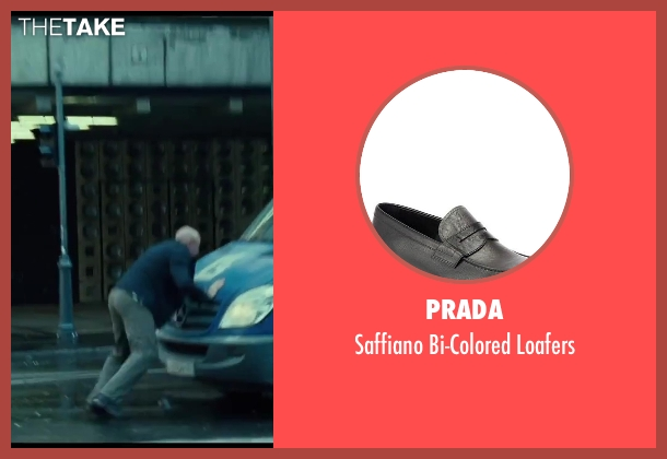 Prada black loafers from A Good Day to Die Hard seen with No Actor (John McClane)