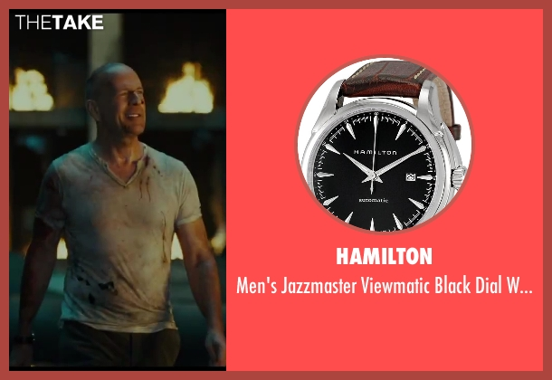 Hamilton black watch from A Good Day to Die Hard seen with No Actor (John McClane)