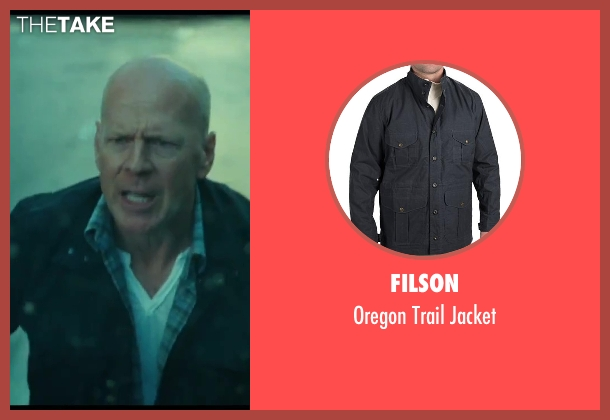 Filson blue jacket from A Good Day to Die Hard seen with No Actor (John McClane)