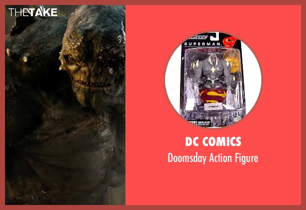 DC Comics figure from Batman v Superman: Dawn of Justice seen with No Actor (Unknown Character)