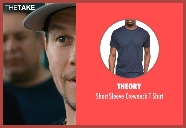 Theory blue t-shirt from Entourage seen with No Actor (Unknown Character)