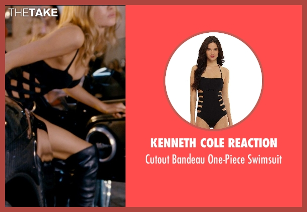 Kenneth Cole Reaction black swimsuit from Fast & Furious 6 seen with No Actor (Unknown Character)