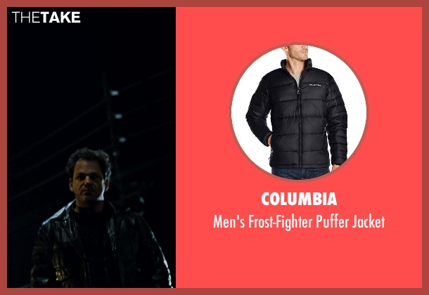 Columbia black jacket from Fight Club seen with Unknown Actor (Unknown Character)