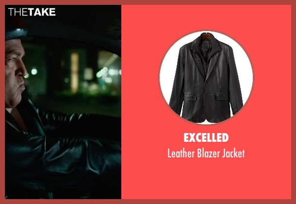 Excelled black jacket from Focus seen with No Actor (Unknown Character)