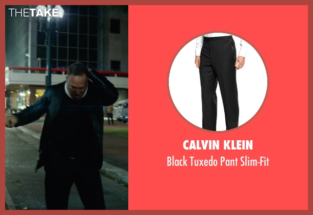 Calvin Klein black slim-fit from Focus seen with No Actor (Unknown Character)