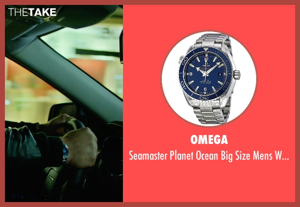 Omega blue watch from Focus seen with No Actor (Unknown Character)