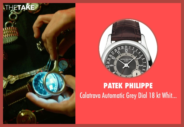 Patek Philippe brown watch from Focus seen with No Actor (Unknown Character)