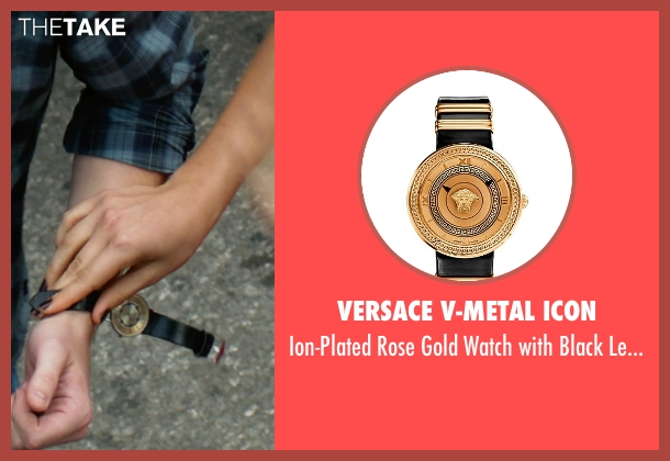 Versace V-Metal Icon gold band from Focus seen with No Actor (Unknown Character)