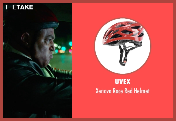 UVEX red helmet from Focus seen with No Actor (Unknown Character)