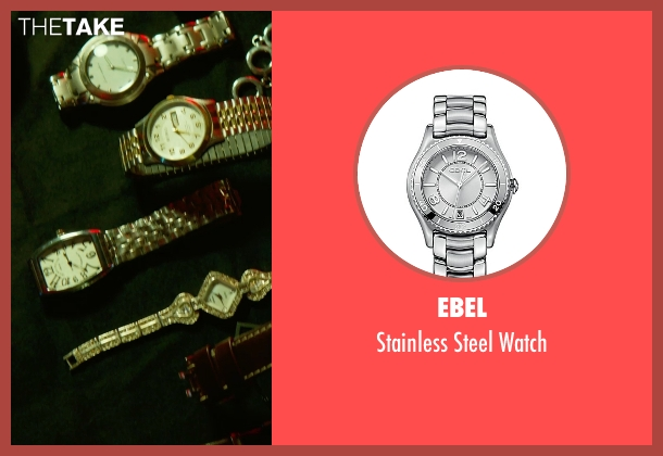 Ebel silver watch from Focus seen with No Actor (Unknown Character)