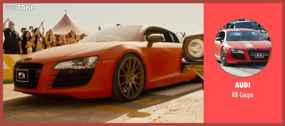 Audi coupe from Furious 7 seen with No Actor (Unknown Character)