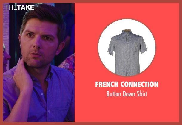 French Connection gray shirt from Hot Tub Time Machine 2 seen with No Actor (Adam)