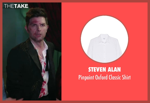 Steven Alan white shirt from Hot Tub Time Machine 2 seen with No Actor (Adam)