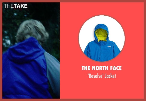 The North Face blue jacket from If I Stay seen with No Actor (Teddy Hall)