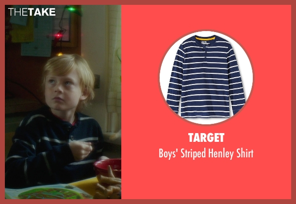 Target blue shirt from If I Stay seen with No Actor (Teddy Hall)