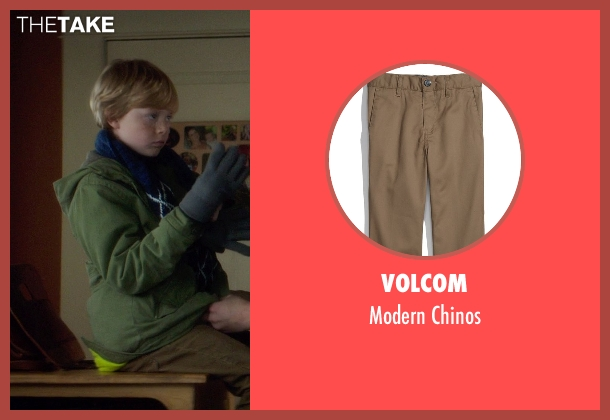 Volcom brown chinos from If I Stay seen with No Actor (Teddy Hall)