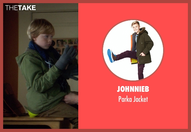 Johnnieb brown jacket from If I Stay seen with Jakob Davies (Teddy Hall)