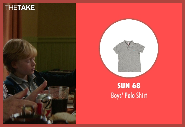 Sun 68 gray shirt from If I Stay seen with No Actor (Teddy Hall)