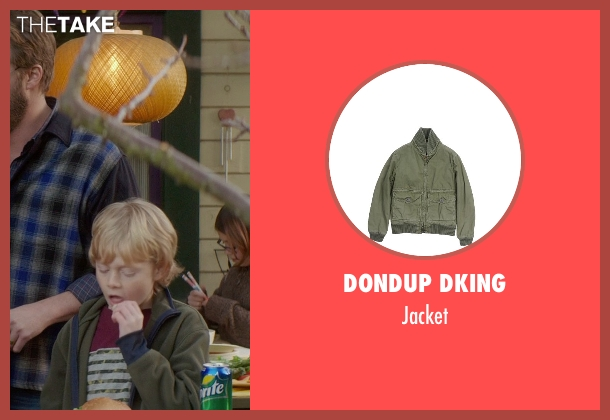 Dondup Dking green jacket from If I Stay seen with No Actor (Teddy Hall)