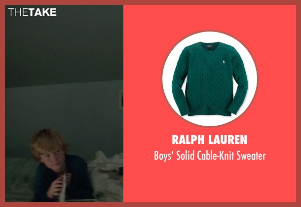 Ralph Lauren green sweater from If I Stay seen with No Actor (Teddy Hall)