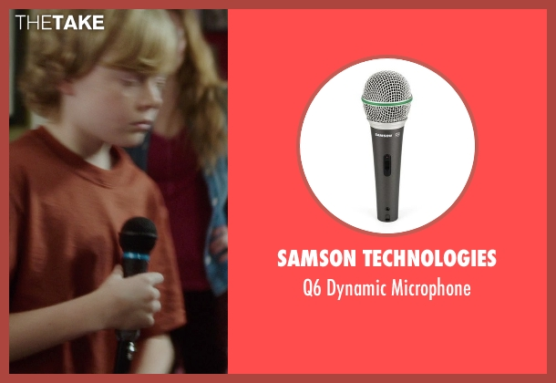 Samson Technologies microphone from If I Stay seen with No Actor (Teddy Hall)