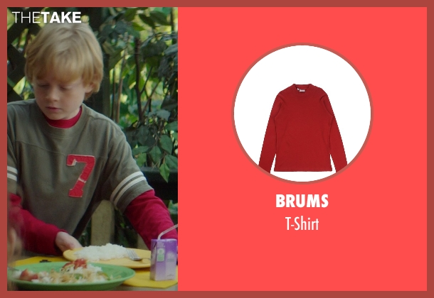 Brums red t-shirt from If I Stay seen with No Actor (Teddy Hall)