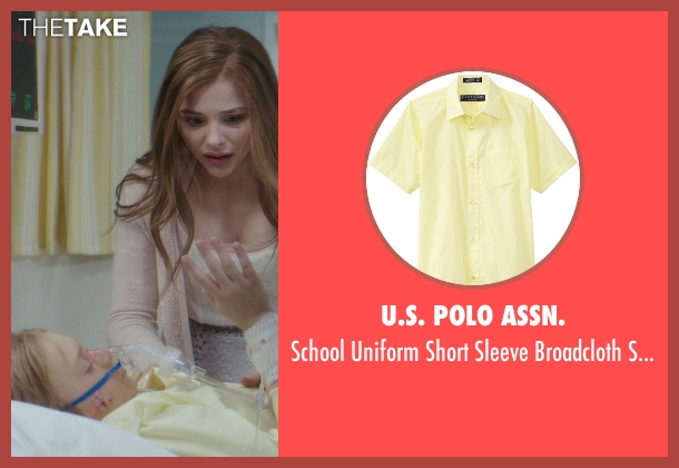 U.S. Polo Assn. yellow shirt from If I Stay seen with No Actor (Teddy Hall)