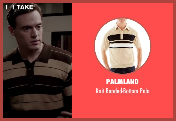 Palmland beige polo from Jersey Boys seen with No Actor (Frankie Valli)