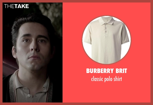BURBERRY BRIT beige shirt from Jersey Boys seen with No Actor (Frankie Valli)