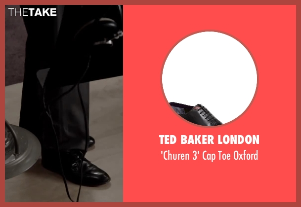 Ted Baker London black oxford from Jersey Boys seen with No Actor (Frankie Valli)