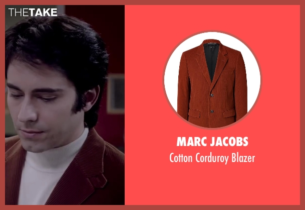 MARC JACOBS blazer from Jersey Boys seen with No Actor (Frankie Valli)
