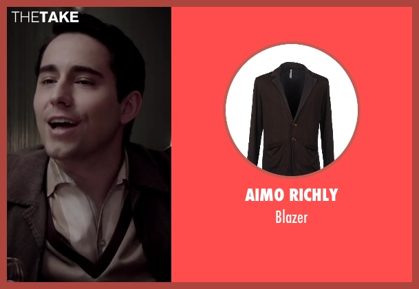 AIMO RICHLY brown blazer from Jersey Boys seen with No Actor (Frankie Valli)