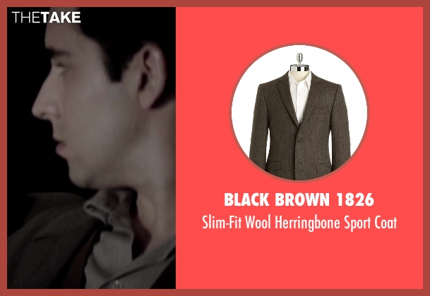 BLACK BROWN 1826 brown coat from Jersey Boys seen with No Actor (Frankie Valli)