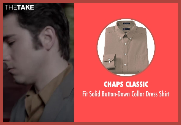 Chaps Classic brown shirt from Jersey Boys seen with No Actor (Frankie Valli)
