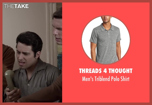 Threads 4 Thought gray shirt from Jersey Boys seen with No Actor (Frankie Valli)