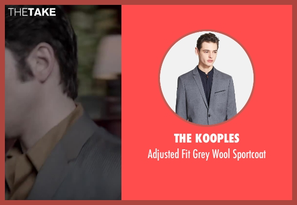 The Kooples gray sportcoat from Jersey Boys seen with No Actor (Frankie Valli)