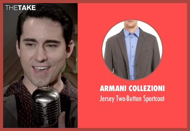 ARMANI COLLEZIONI gray sportcoat from Jersey Boys seen with No Actor (Frankie Valli)