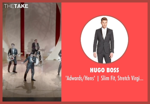 HUGO BOSS gray trim from Jersey Boys seen with No Actor (Frankie Valli)