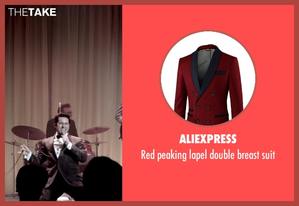 Aliexpress suit from Jersey Boys seen with No Actor (Frankie Valli)
